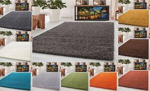 5cm Deep Pile Thick Shaggy Large Rugs Hallway Runner Non Slip Living Room Carpet