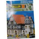Catalog FALLER 2003/04 Bundled Modeling H0, Tt, N,Z Articulos De Model Sport