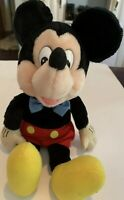 Vintage Mickey Mouse Floppy Plush Doll by Applause Walt Disney Productions 13""