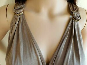 GUESS Romper Play suit Bronze Womens Size M