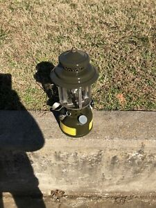 Vintage 1967 Coleman Gasoline Lantern U.S. Military in Super Nice Shape +wrench