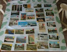 Lot Mixed Vintage Postcards PA DC OR NJ OH Canada Transportation Humor post card
