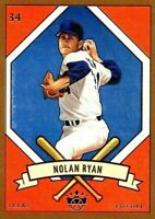 Nolan Ryan~2019 Panini Diamond Kings DK205 Series (SP) Gold Card #205-11(NM+/M)!