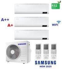 CONDIZIONATORE SAMSUNG CEBU TRIAL SPLIT 7+9+12 BTU INVERTER R32 AJ068 A++/A+