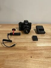 Canon EOS M50 Mirrorless Digital Camera  with 15-45mm Lens BUNDLE