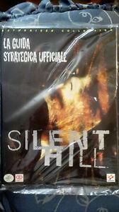 GUIDA STRATEGICA UFFICIALE ITALIANA SILENT HILL  PS1 NUOVA CON CELLOPHANE