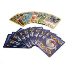 Pokemon Ed Base charizard blastoise 25pc Cards Graded Set Trading Card Games New