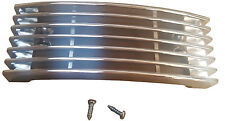 ukscooters VESPA CHROME HORNCAST GRILL WITH FIXINGS HORN GRILE PX LML T5  118x42