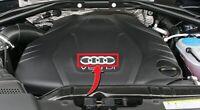 NEW GENUINE AUDI A1 A3 A4 S4 A5 S5 A6 S6 Q3 Q5 TT ENGINE COVER RING EMBLEM