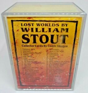 1993 - Comic Images - Lost Worlds William Stout - FULL SET - Great Condition!