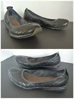 Privo by Clarks Womens Black Leather Slip On Shoes Comfort Size 6.5 M
