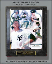 MICKEY MANTLE  COLLAGE PLAQUE 10.5 BY 13 INCHES