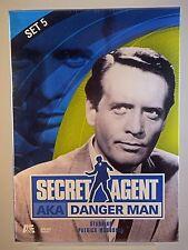 Secret Agent AKA Danger Man - Set 5 (DVD, 2002, 2-Disc Set) - FACTORY SEALED