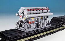 DUHA Ladegut - Spur H0 11559 Großer Dieselmotor mit 16 Zylindern