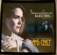 2018 EMMY DVD AMERICAN HORROR STORY CULT FYC Foldout Package Rare Sarah Paulson