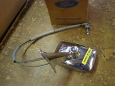NOS OEM Ford 1969 Mustang Chrome Remote Mirror Grande