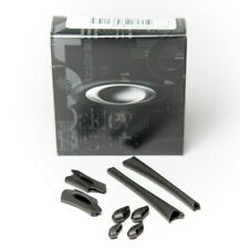 NEW Oakley Flak Jacket BLACK  Replacement Nose Ear Pieces Pad Sockets Sunglasses