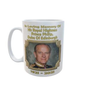 Commemorate Prince Philip Duke of Edinburgh 1921 - 2021 Profits To Charity