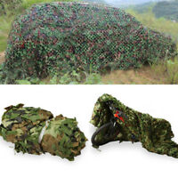 NEW Camo Net Camouflage Netting Hunting / Shooting Hide Army Woodland 2M X #