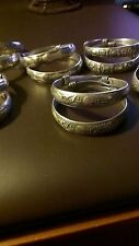 1 Tibet Silver Carving  Bracelet handwork collectible fast delivery beautiful