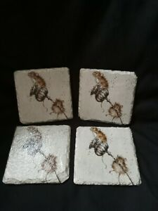 Hand crafted decoupaged Slate Coasters