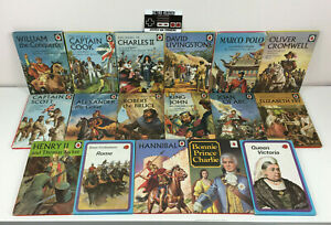 Vintage Ladybird Books History Series 561 Bundle x17 Books LB 60s 70s Queen King