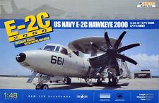 Kinetic 1/48 Scale E-2C 2000 Hawkeye 2000 Plastic Model Kit K48016