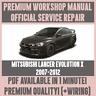 *WORKSHOP MANUAL SERVICE & REPAIR for MITSUBISHI LANCER EVOLUTION X 2007-2012