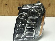 07-14 Cadillac Escalade Platinum LED Headlights Headlamp Left Side 25999509 Oem