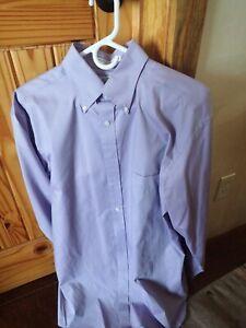 Mens enro long sleeve classic dress shirt
