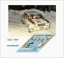 DECALS FIAT 131 ABARTH MS CERRATO RALLY MONTECARLO 1981