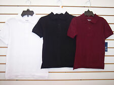 Boys Izod $18-$20 Assorted Color Uniform Polo Shirts Size 4 - 18/20