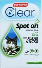Bob Martin Flea-Clear Cat Spot-On Fleas and Ticks Drops