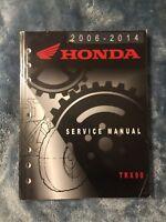 2007 2008 2009 2010 2011 2014 TRX90 Honda Factory Service Repair Manual Guide