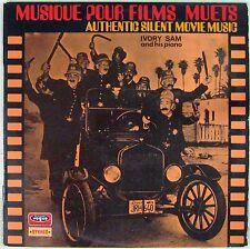 Musique pour Films Muets 33 tours Ivory Sam