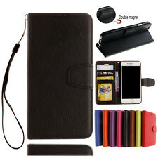 Card Holder PU Leather Wallet  Flip Case Cover Skin Stand Floral For Smart Phone