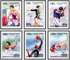 Timbres Sports Cambodge 1744/9 ** année 2000 lot 24569 - cote : 13,50 €