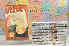 SHIPS SAME DAY Kare First Love Vol. 2-3, 5-10 Kaho Miyasaka Manga Near Complete
