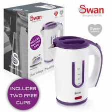 SWAN 0.4L PORTABLE TRAVEL KETTLE WITH TWO CUPS SK27010N