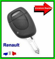 Coque Télécommande Plip Clé Pour Renault Scenic/Twingo/Clio/Megane/Espace/Laguna