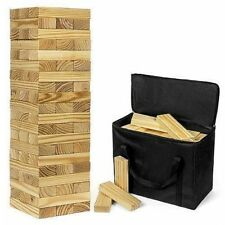 Jenga Game Giant Yard Big Large Wood Block Picnic Party Pool Tower Lawn Outdoor
