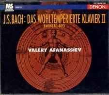 BACH - The Well Tempered Clavier / Book Two - Valery AFANASSIEV - Denon 2CDs