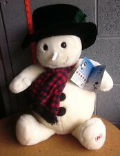 Snowden On Ice plush doll Nwt ice-skating magic snowman Raggedy Ann 1997
