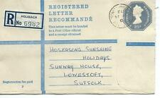 GB - REGISTERED ENVELOPE - SIZE G - 23p - HOLBEACH - 6982