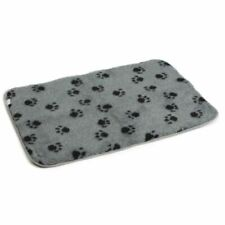 Beeztees Dog Crate Bedding Mat Polyester Cushion Washable 89x60 cm Grey 704009