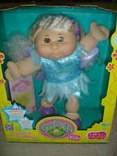 NEW Cabbage Patch Kids I am a Fairy Kylie Sean blonde 2012 baby doll Feb 1 CPK