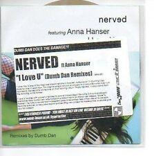 (852A) Nerved, I Love U ft Anna Hanser - DJ CD