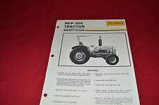 Massey Ferguson 30E Tractor Dealer's Brochure Lcoh