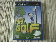 MR GOLF MISTER GOLF PLAYSTATION 2 PS 2 NUEVO Y PRECINTADO