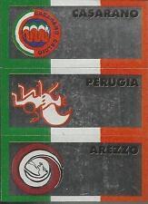 FIGURINA SCUDETTO EUROFLASH 1990/91-CASARANO-PERUGIA-AREZZO